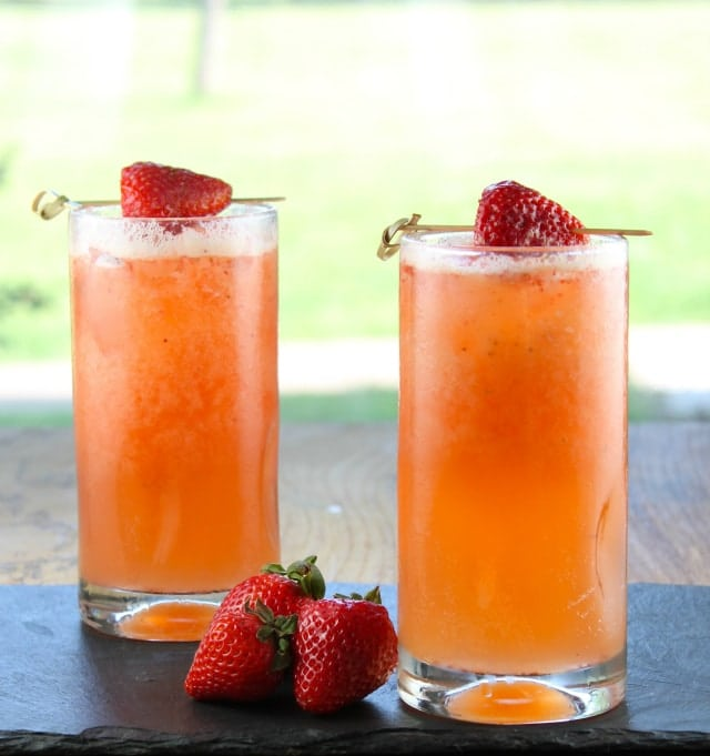 Strawberry Mango Coolers | Miss in the Kitchen