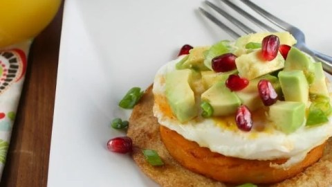 Sweet Potato Breakfast Tostadas