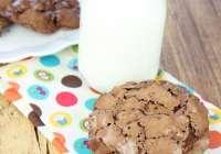 Chocolate Volcano Cookies from missinthekitchen.com