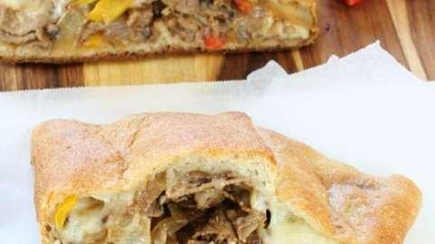 Easy Cheesesteak Stromboli