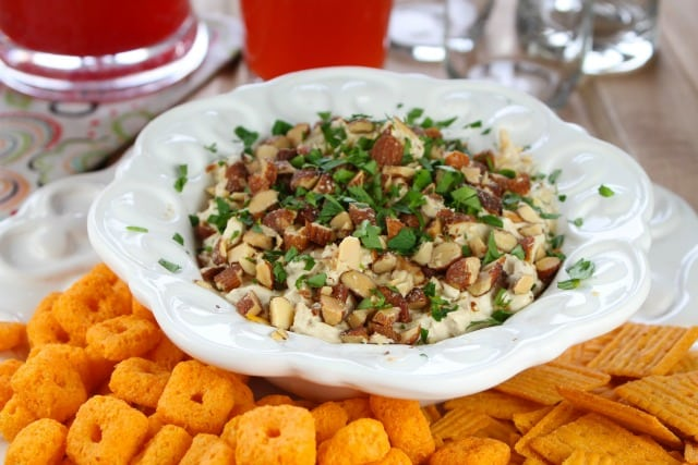 Bacon Cheese Ball Dip Recipe | Miss in the Kitchen