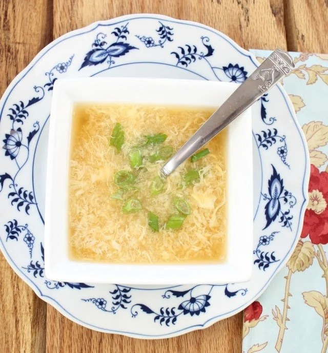 Egg Drop Soup from Miss in the Kitchen