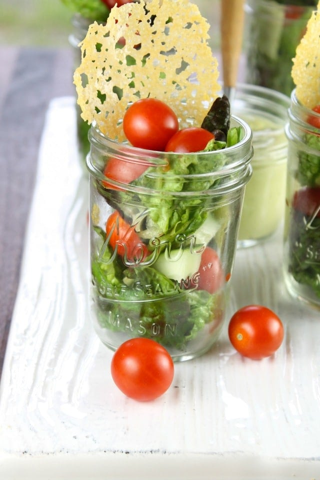 Summer Salads in Jars with Dubliner Cheese Crisps Miss in the Kitchen
