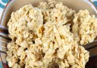 White Chocolate No Bake Cookies from Miss in the Kitchen