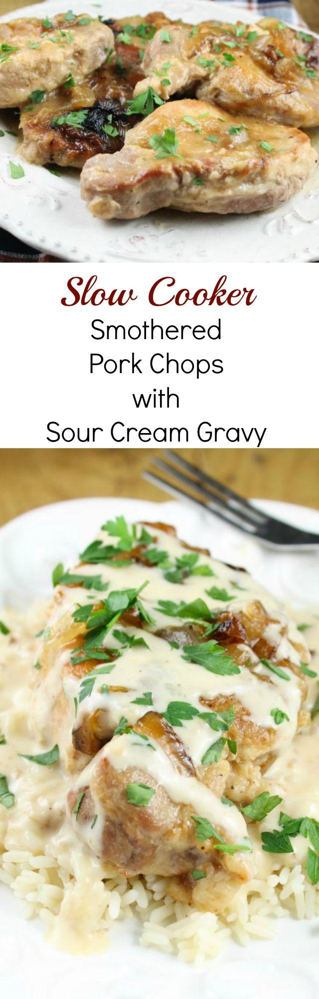 Recipes using sour cream and pork chops