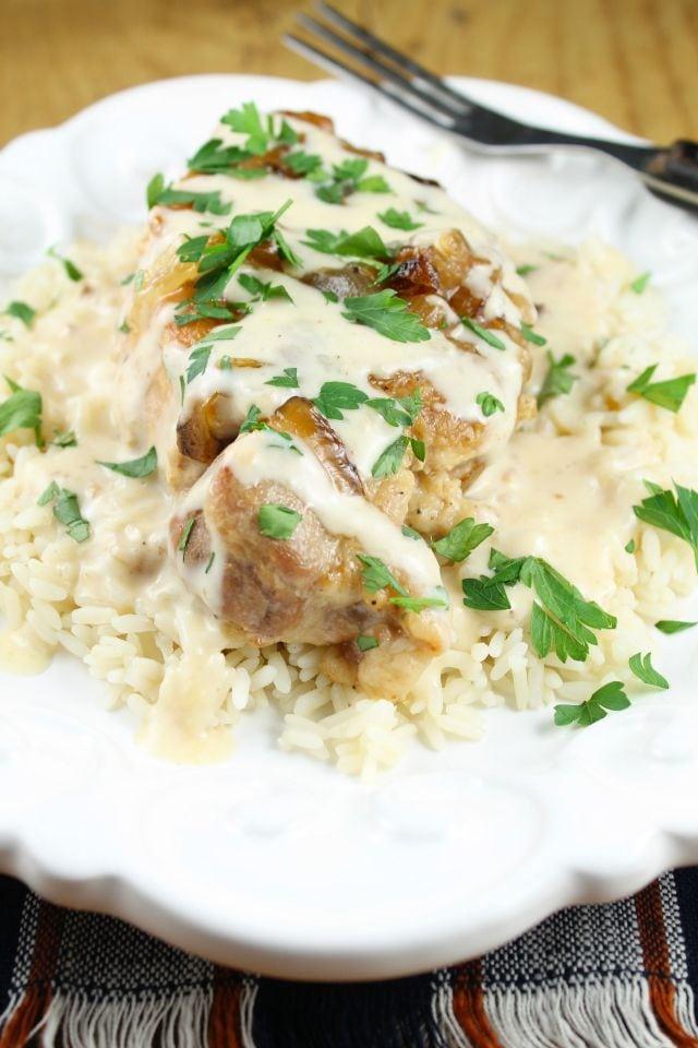 recipe: sour cream gravy pork chops [12]