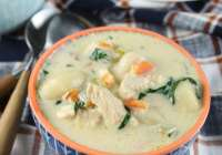 Chicken Gnocchi Soup Recipe from Miss in the Kitchen #sponsored