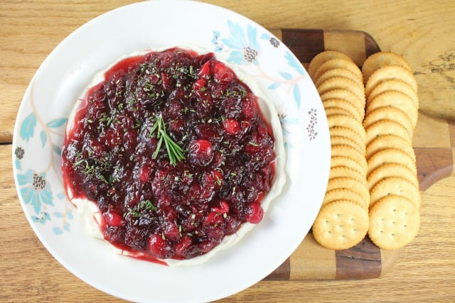 Cranberry Dip from Miss in the Kitchen