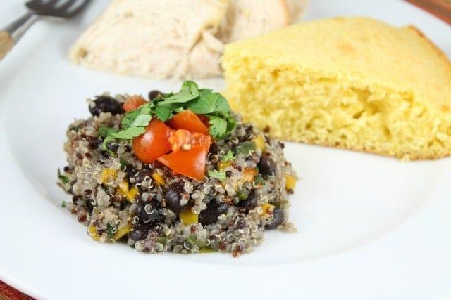 Recipe for Southwest Quinoa from MIssintheKitchen