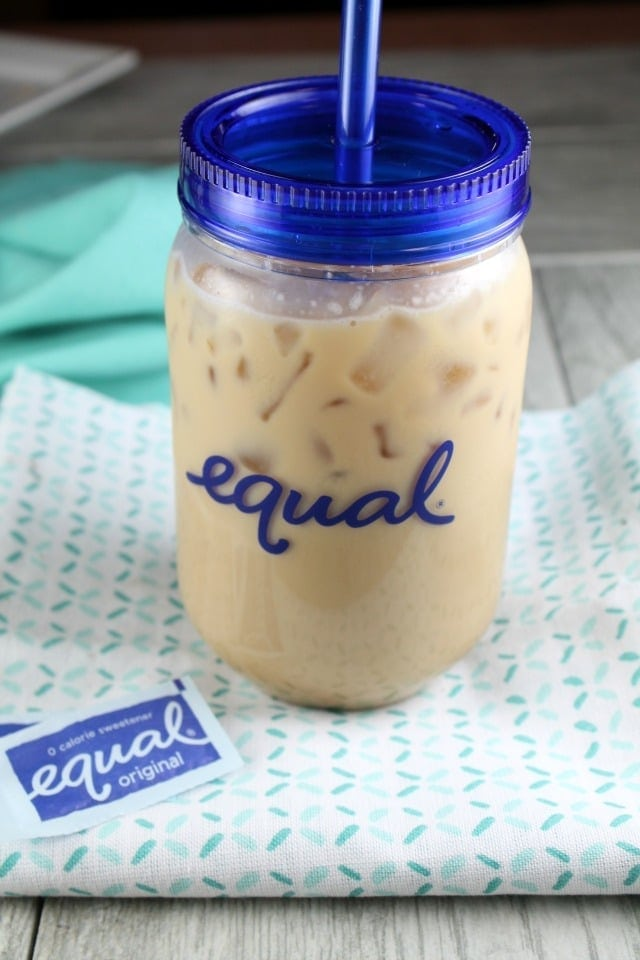 Vanilla Bean Ice Coffee Recipe ~ MissintheKitchen.com