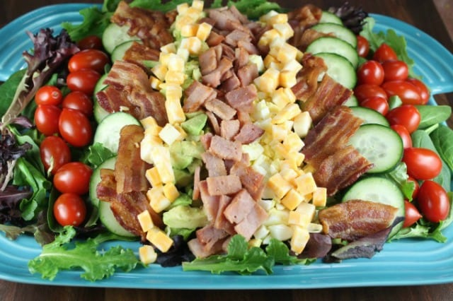 Kicked Up Chef's Salad for Petit Jean Meats