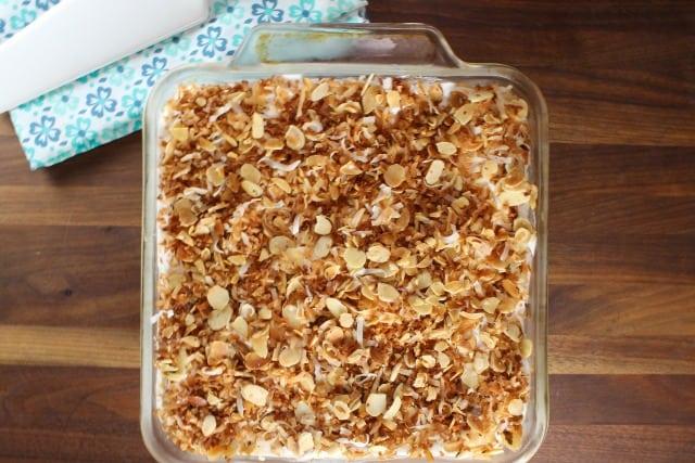 Coconut Cream Pie Bars | MissintheKitchen.com