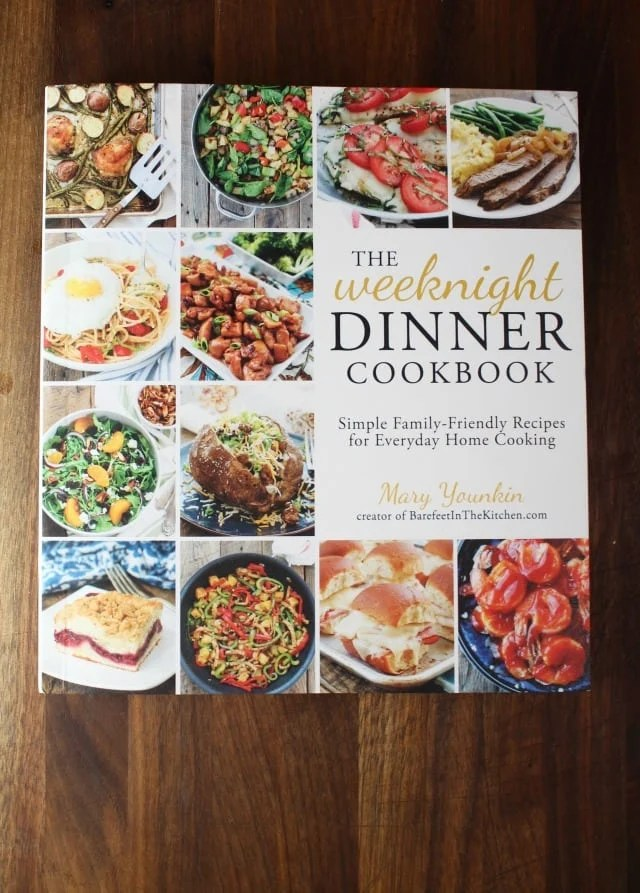 The Weeknight Dinner Cookbook by Mary Younkin ~ Review at MissintheKitchen.com