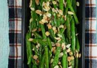 Easy Weeknight Dinners with Barber Foods and Almond Green Beans