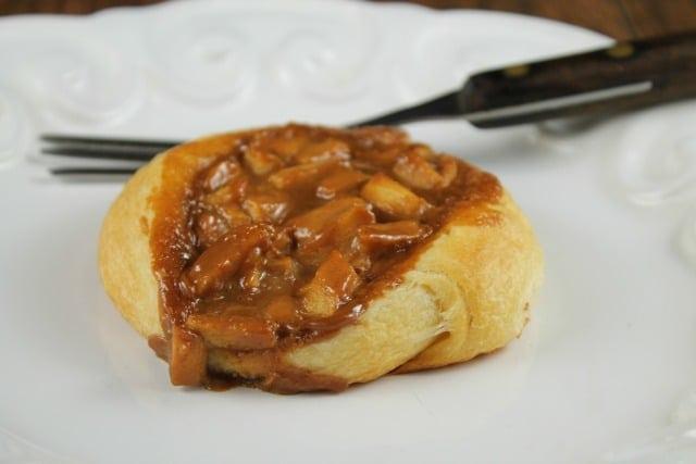 Caramel Apple Danish Recipe from MissintheKitchen.com with Pillsbury Crescent Dough #ad