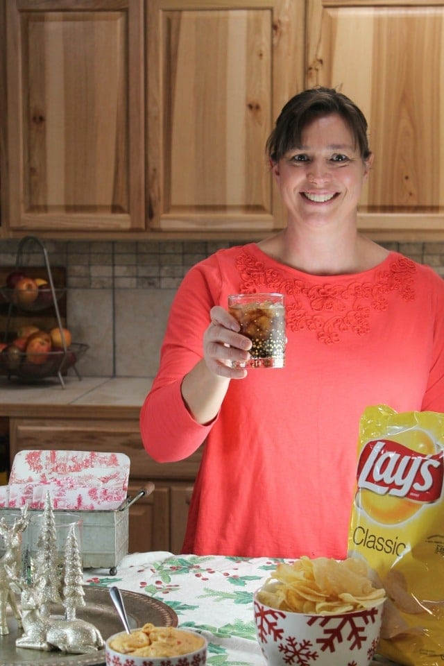 Miss ~ Cheers to the Frito Lay White Elephant Charity Exchange Party ~ MissintheKitchen.com