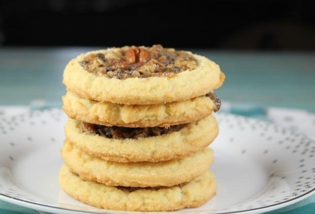 Recipe for Pecan Pie Cookies ~ MissintheKitchen.com