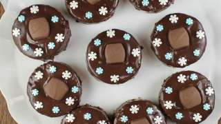 Triple Chocolate Snack Cakes