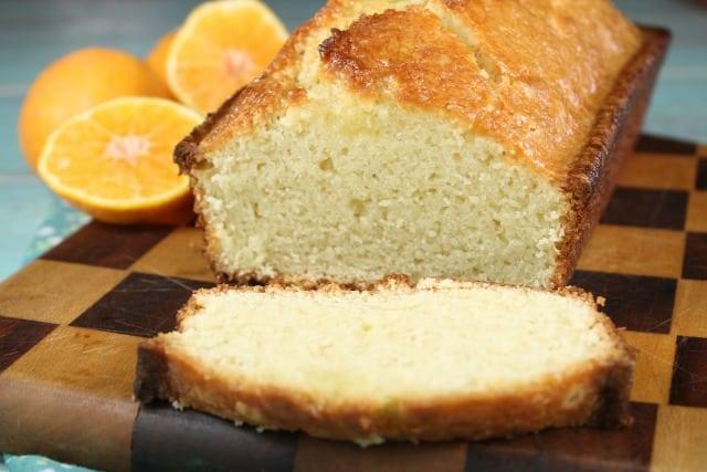 Orange Glazed Almond Bread Recipe - MissintheKitchen