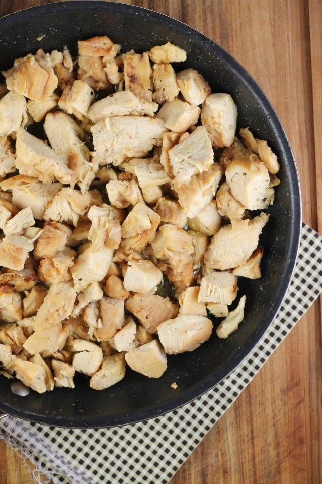 Quick Lemon Chicken Broccoli Bowls ~ MissintheKitchen