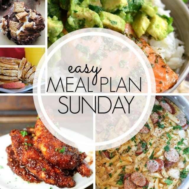 Easy Meal Plan Sunday 96 ~ MissintheKitchen.com