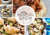 Easy Meal Plan Sunday #99 MissintheKitchen.com