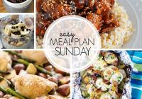 Easy Meal Plan Sunday {Week 99}