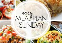 Easy Meal Plan Sunday {Week 98}