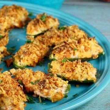 Doritos Chicken Jalapeno Poppers ~ Easy summer appetizer ~ MissintheKitchen.com #ad #SayYesToSummer