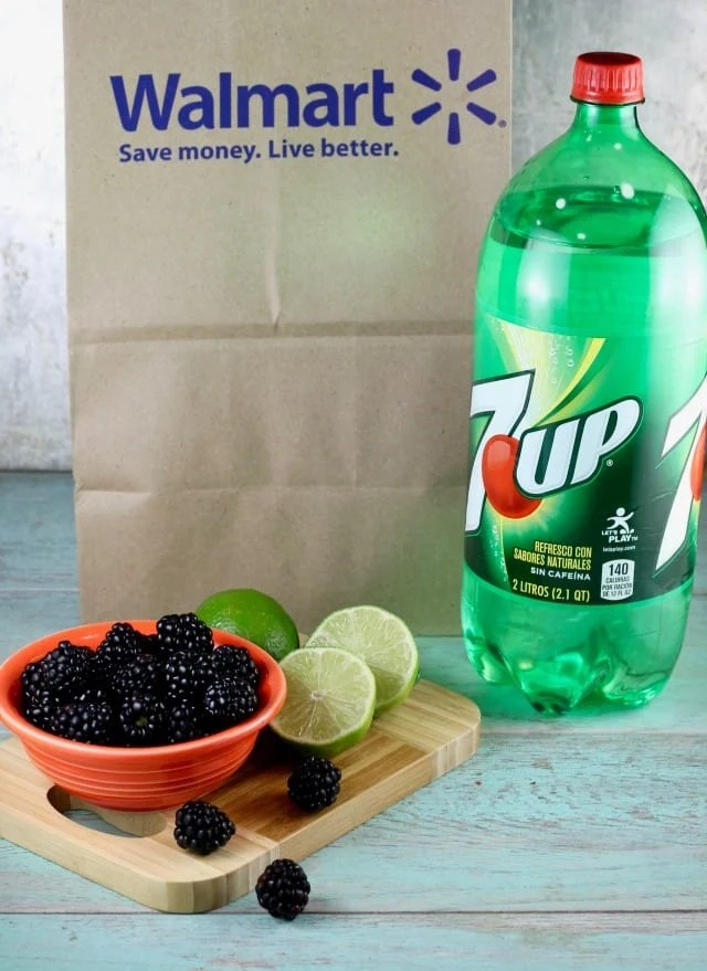Easy Blackberry Mojitos Recipe with 7UP ~ Miss in the Kitchen