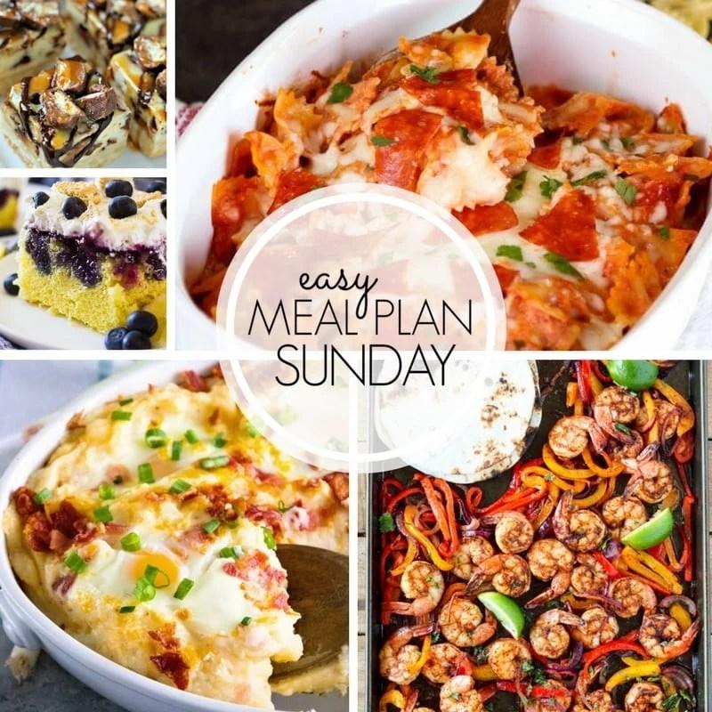 Easy Meal Plan Sunday {Week 100} ~ MissintheKitchen.com