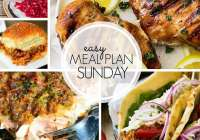 Easy Meal Plan 105 ~ MissintheKitchen.com