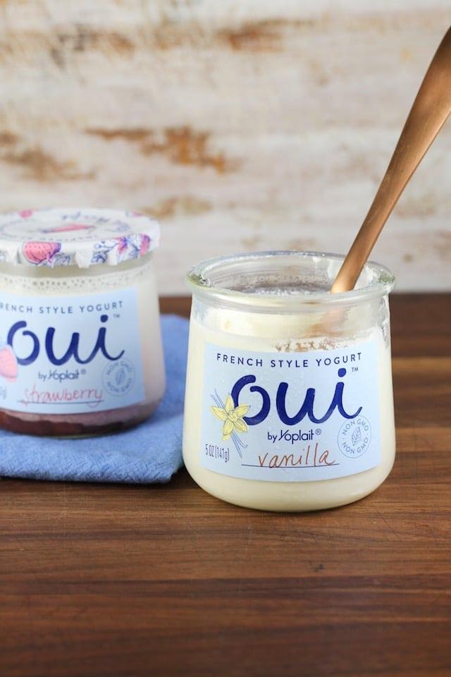 New Oui Yogurt by Yoplait ~ MissintheKitchen.com #ad