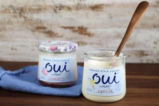 French Style Yogurt ~ Oui by Yoplait ~ MissintheKitchen.com #ad