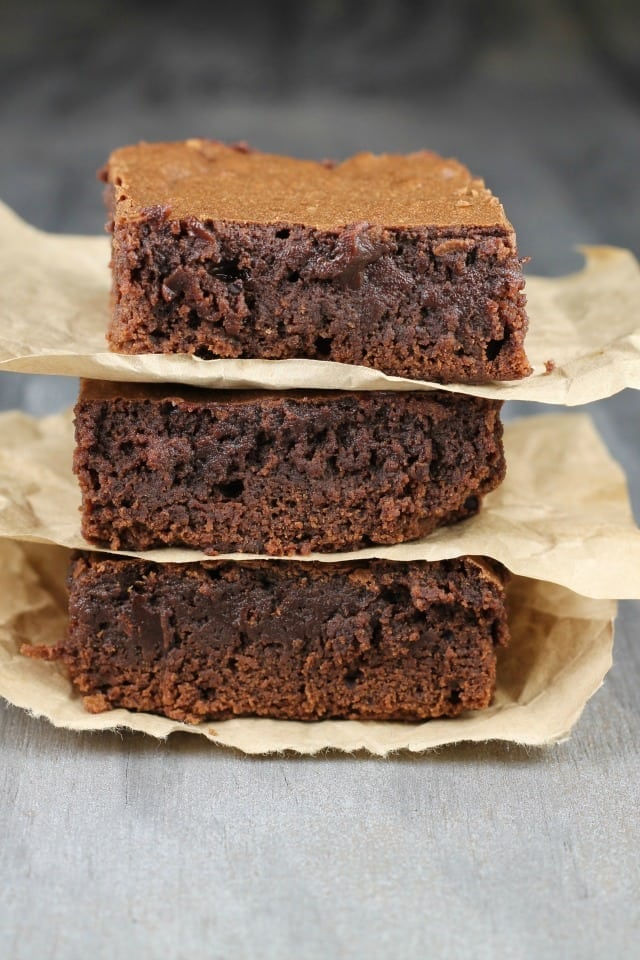 Dr. Pepper Brownies Recipe from MissintheKitchen.com #ad