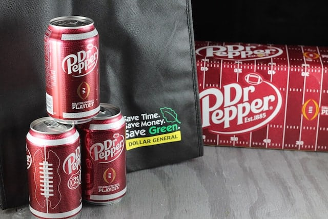 Dr. Pepper from Dollar General ~ MissintheKitchen.com #ad