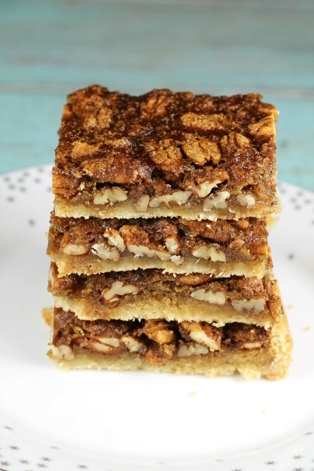 Brown Sugar Pecan Pie Bars Miss In The Kitchen