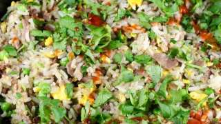 Christmas Brisket Fried Rice