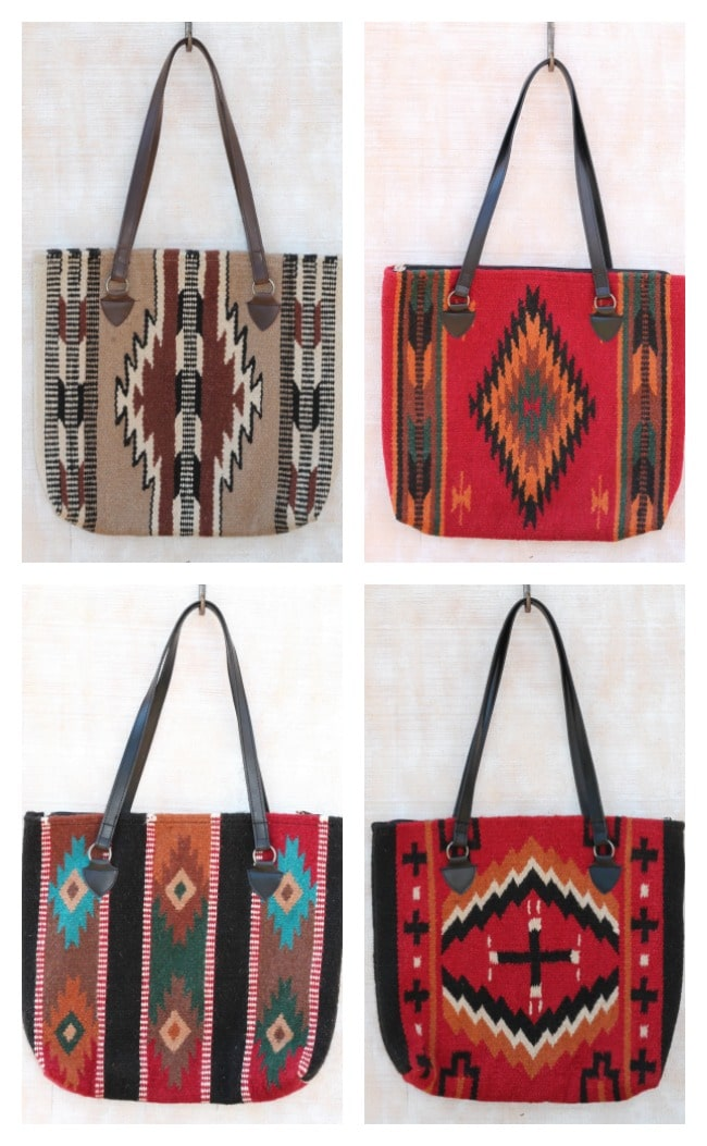 Southwest Tote Bags from RedRIverIron.com #computer #bag