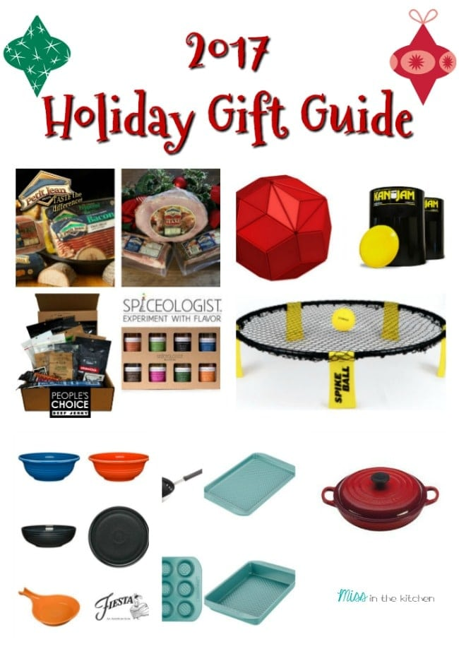 2017 Holiday Gift Guide from MissintheKitchen.com #Christmas #holiday #giftguide