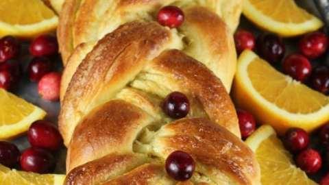 Orange Cardamom Braid Bread Recipe #Ad @RedStarYeast | MissintheKitchen.com #recipe #bread #holiday