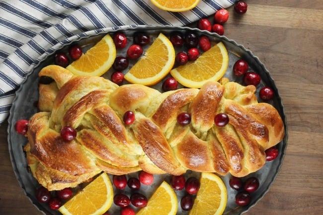 Orange Cardamom Braid Recipe ~ MissintheKitchen.com