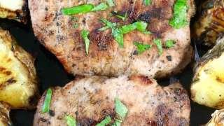 Easy Citrus Grilled Pork Chops
