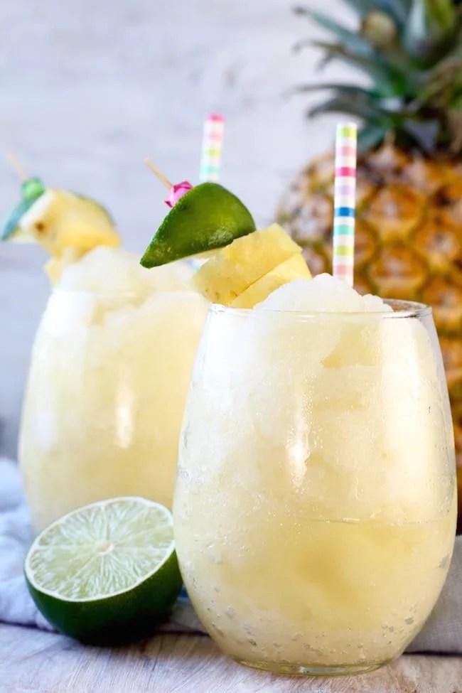 Frozen Pineapple Limeade Slush Recipe