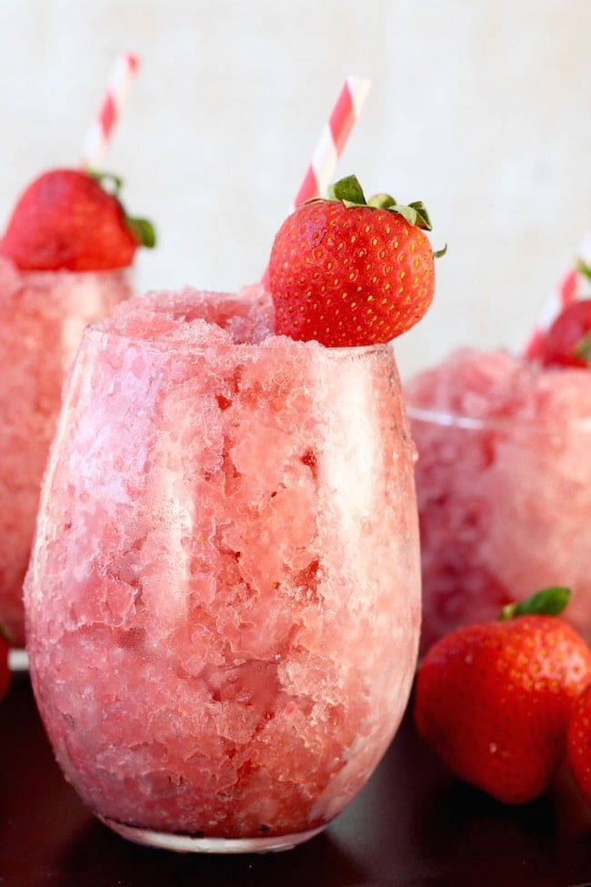 Strawberry Watermelon Frose Cocktail
