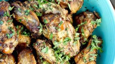How to Smoke Chicken Wings recipe and steps