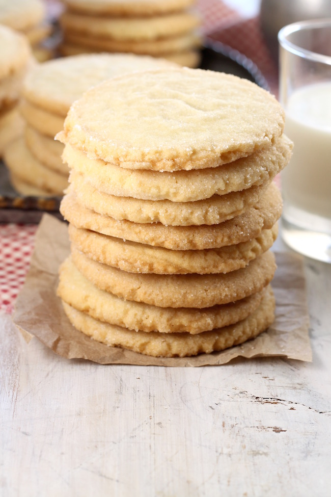 Best Ever Sugar Cookies with crispy edges