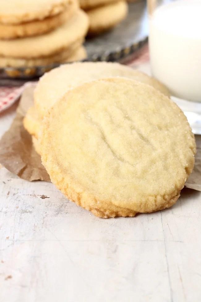 Cookies for Santa ~ Best Ever Sugar Cookies