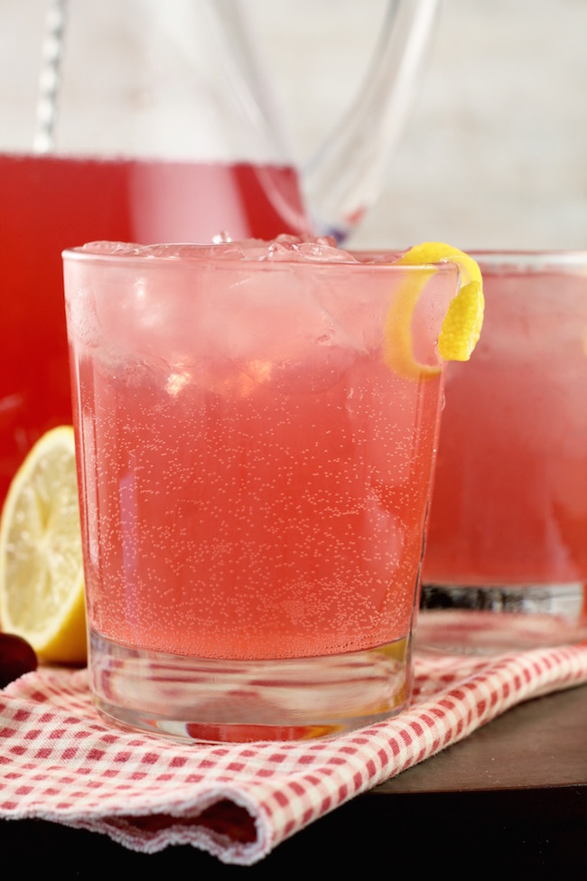 Cranberry, Citrus, Vodka, Moscato Cosmopolitan Party Punch