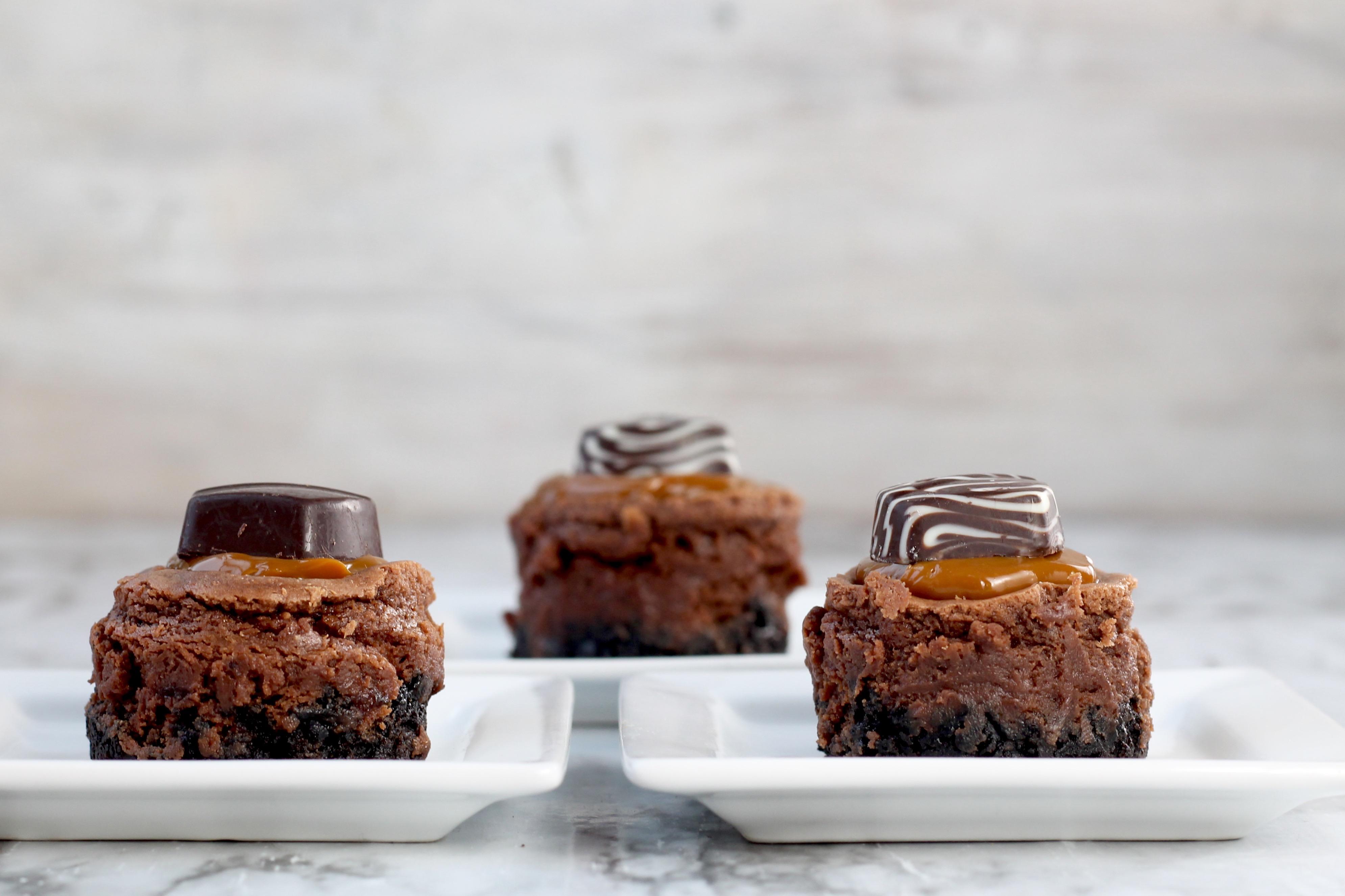 Pinterest Mini Oreo Cheesecakes